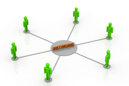Network concept Stock Photo - 11037579