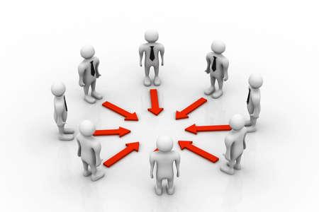 apoyo social: Trabajo en equipo concepto
