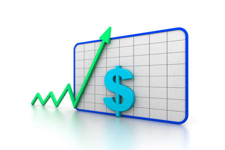 stimulus: Financial growth graph