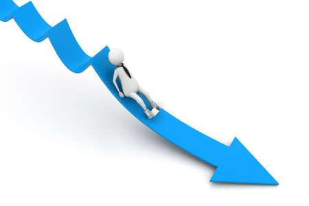 decline: Sliding from arrow of breakdown