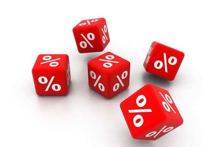 cut price: symbols of percent