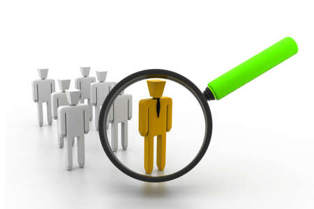 congregation: search a group company or population of people and find a leader