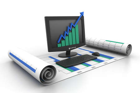 business growth concept Stock Photo - 11290128