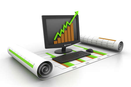 business growth concept Stock Photo - 11290140
