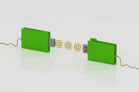 backup folder Stock Photo - 14377658