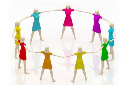 cross linked: teamwork