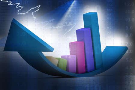 market research: Financial graphs