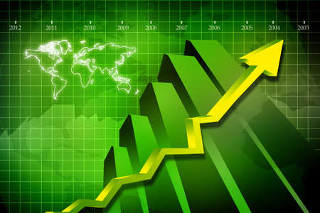 bank statement: business graph