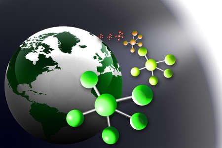 earth and molecules    photo
