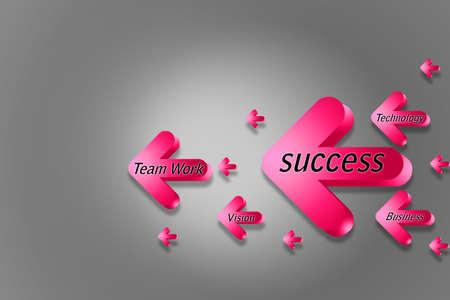 success arrow  photo
