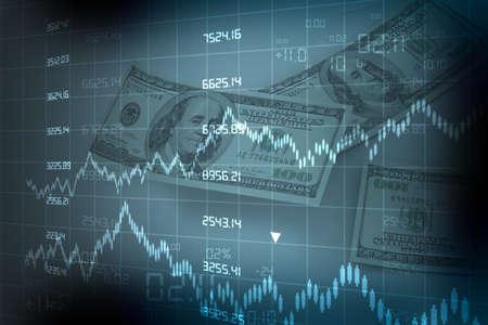 statistical: stock market chart