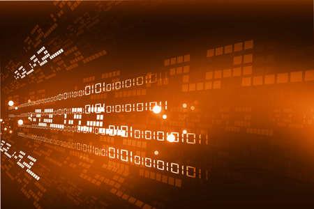 バイナリ コードとインターネットの背景 写真素材