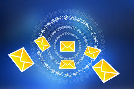 Email concept Stock Photo - 15187794
