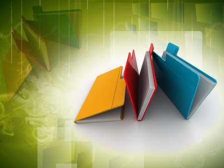 mail order: folder with documents