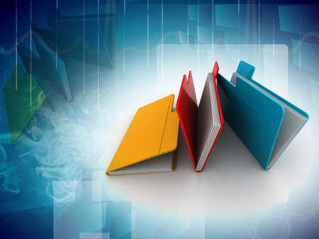 administrativo: pasta com documentos