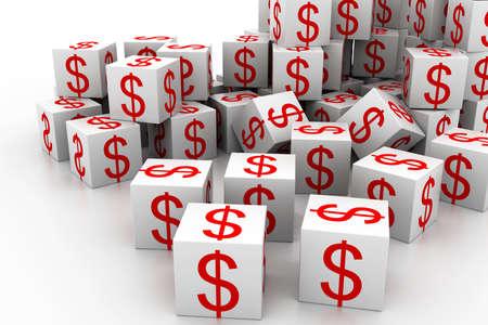 speck: Dollar cubes