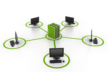 openly: computer and documents network