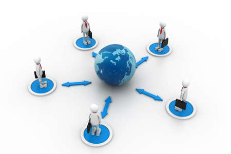 coordinated: Global Business network