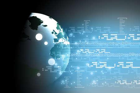 international network: digital earth