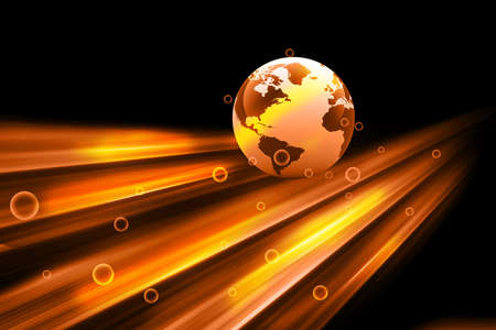 digital globe: digital earth