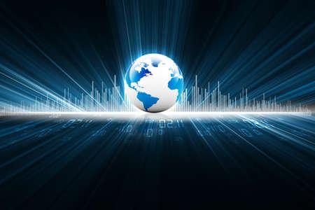 milagro: tierra con fibras digitales