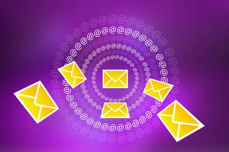 inbox icon: Email concept