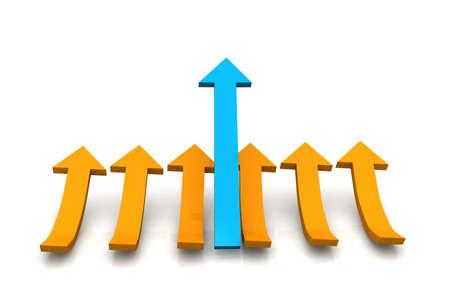 swerve: arrows   Stock Photo