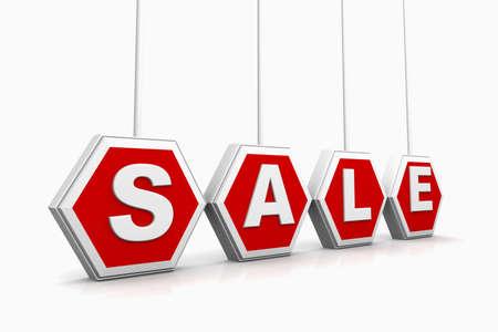 retailers: 3d Sale text
