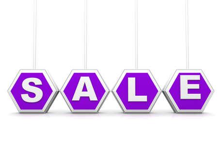 hot price: 3d Sale text