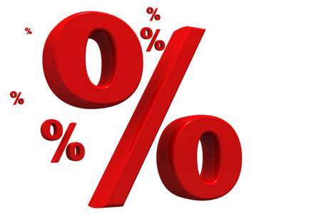 percentages: percent   Stock Photo