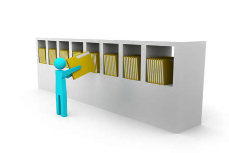 Filing cabinet Stock Photo - 15593686