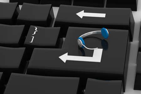 enter key: Chat enter key