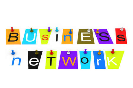 Business network Stock Photo - 16946332