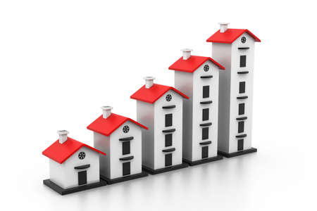 rise fall: Graph of the housing market