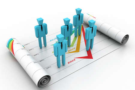 Business planning concept Stock Photo - 16945921