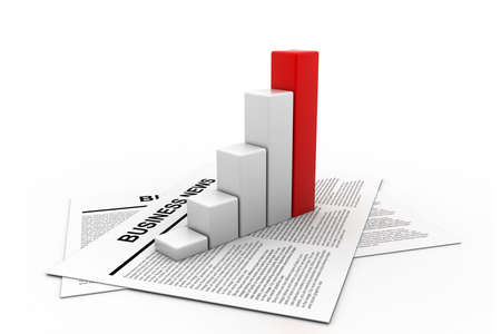 increase sales: Business news and graph
