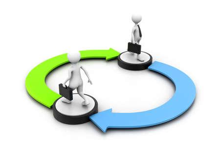 exchanging: Exchange concept