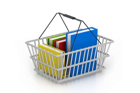shopping basket: Books in shopping basket