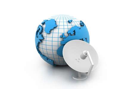 satellite dish receiver Stock Photo - 16981933