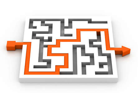 seeking an answer: Maze puzzle solved