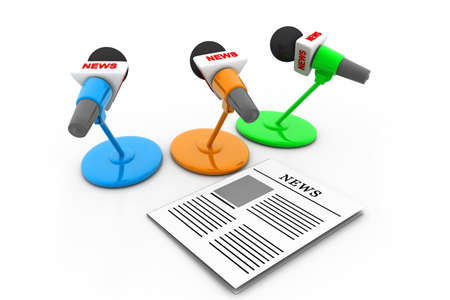 Media concept Stock Photo - 17034503
