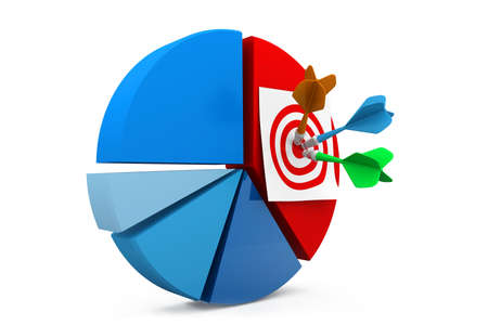 Business target Stock Photo - 17034483