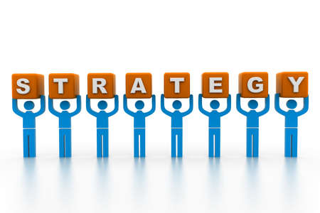 Business strategy Stock Photo - 17034418