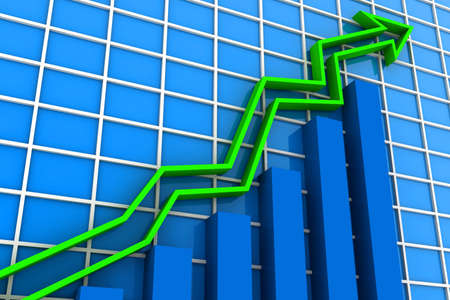 increment: Business rising graph