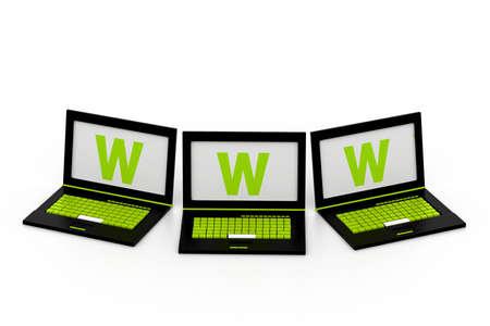 www concept Stock Photo - 17034325
