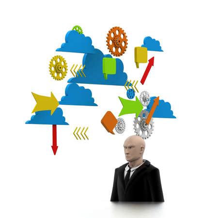 strategist: Strategist Stock Photo