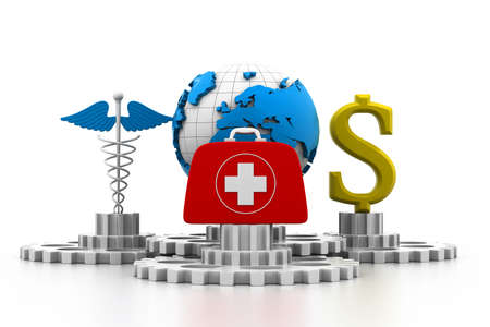 World medical concept Stock Photo - 17034197