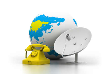 telecommunication equipment: Global telecommunications   Stock Photo