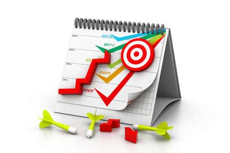 perdidas y ganancias: Muchas flechas fallan su objetivo un objetivo no alcanzado