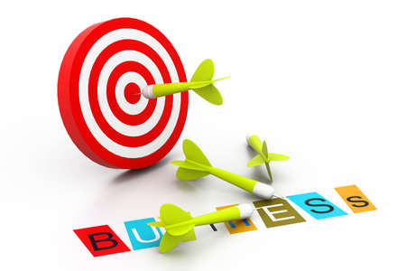 Business target Stock Photo - 17033857